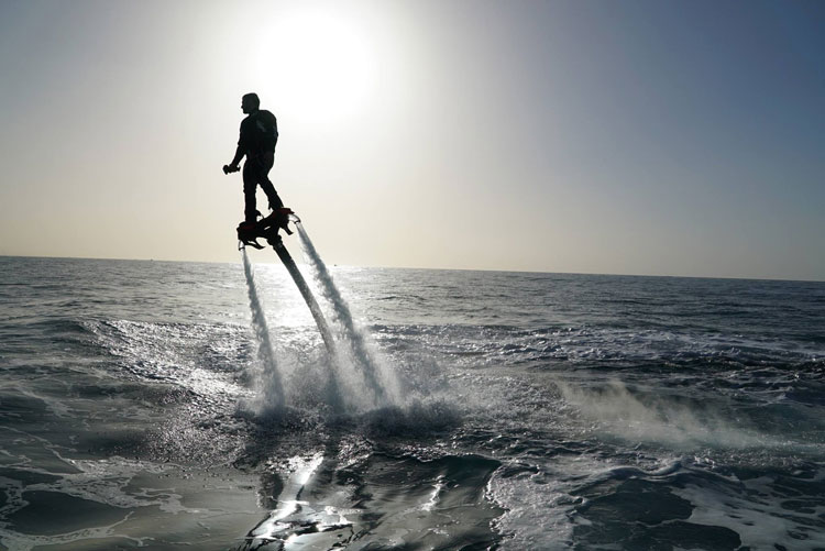 Flyboard Zapata racing