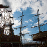Mixing the fun of the fair with the historical ships