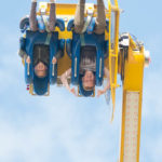 Upside-down on The Booster