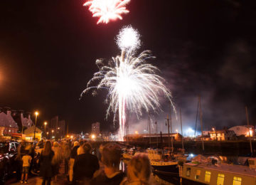 Ipswich Maritime Festival fireworks video