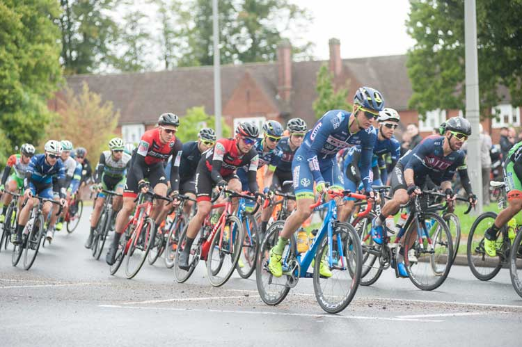 Tour of Britain 2017 peloton